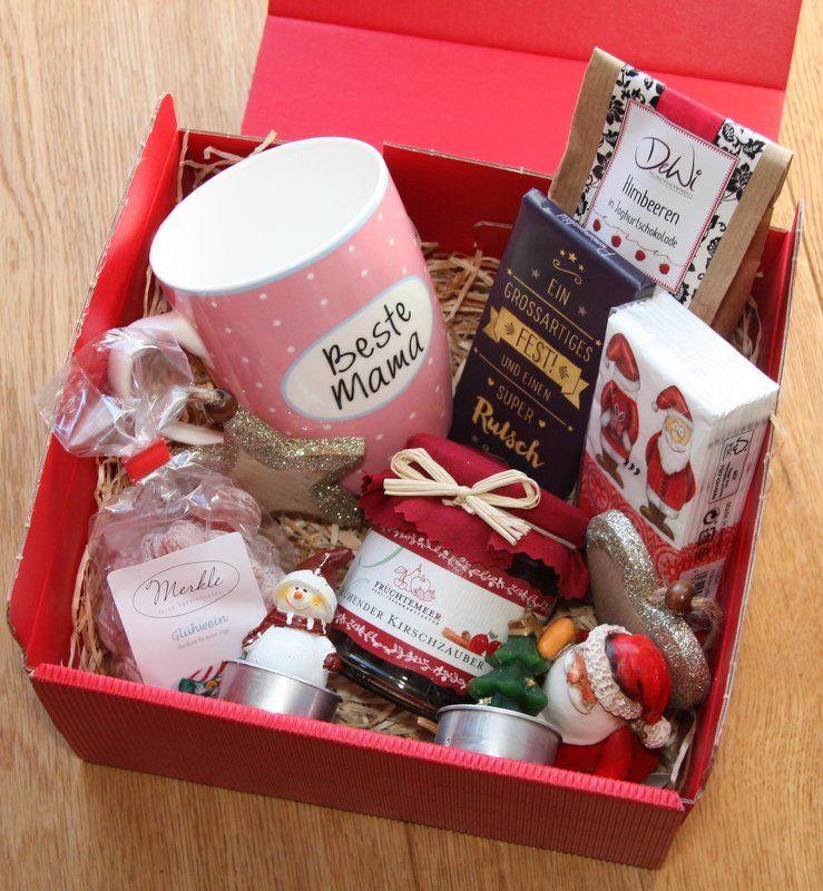 Weihnachten Geschenke Mama Geschenkbox | Etsy