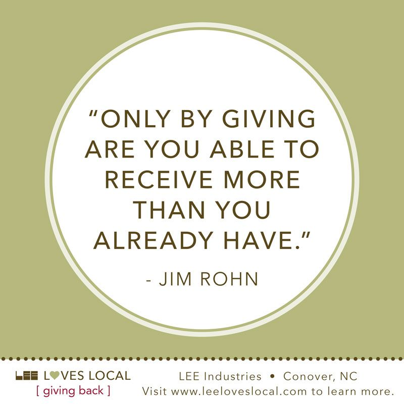 Giving Back To The Community Quotes Giving Back  Pizitz  Style  Blog  Pinterest  News Giving Back