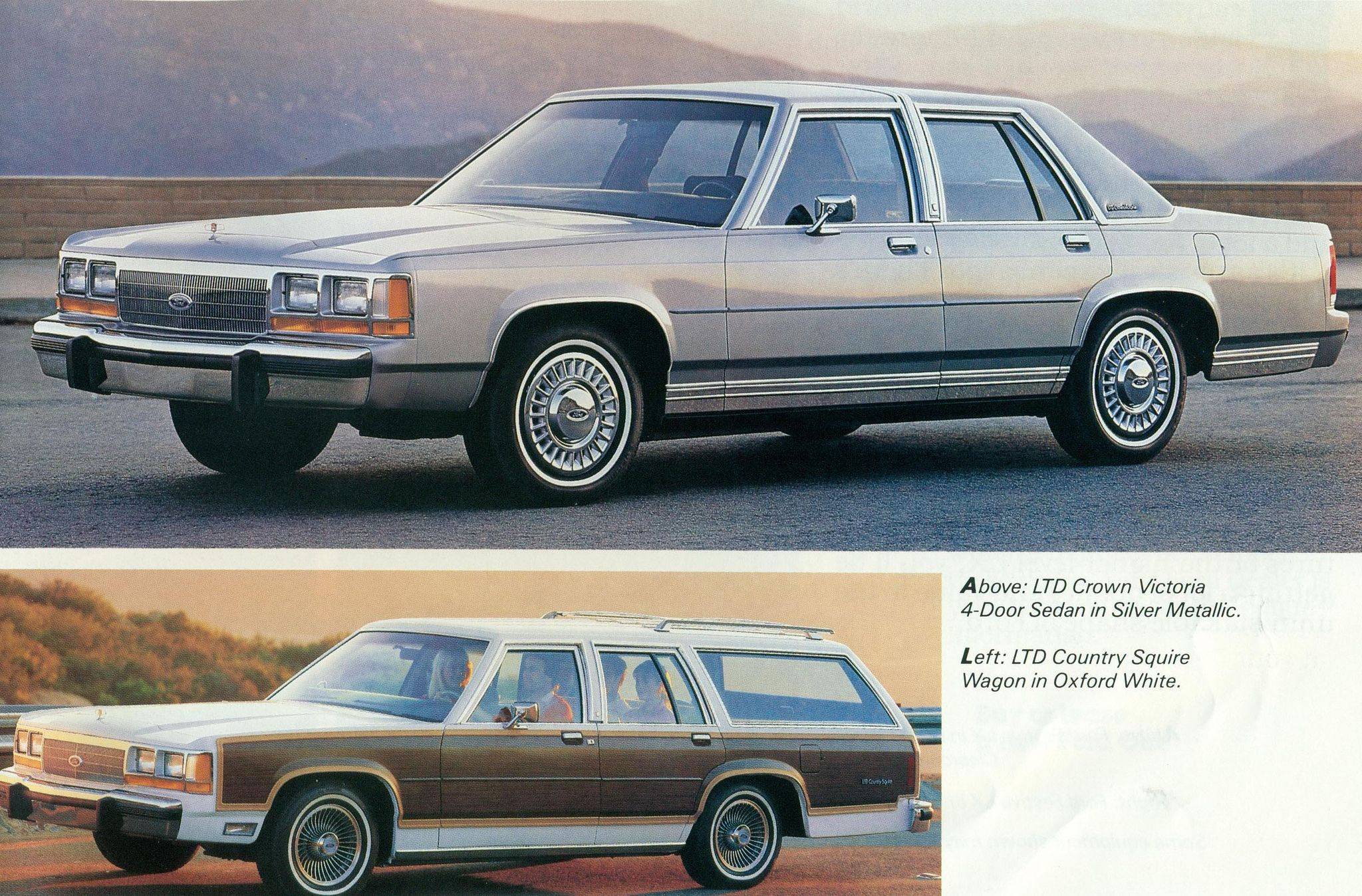 1988 Ford Ltd Crown Victoria And Country Squire Station Wagon 1970 Https Flickr P Eextq8