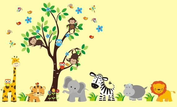 Baby Room Decals   Nursery Wall Decals   Kids Room Stickers   Wall Decals    Baby Room Art   Kids Roo