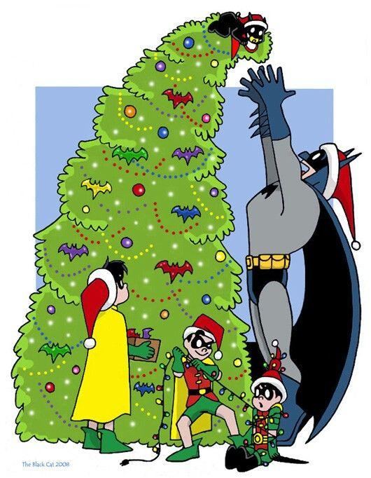 Tannenbaum Animation.O Tannenbaum By The Blackcat Via Deviantart Dc Batman Comic