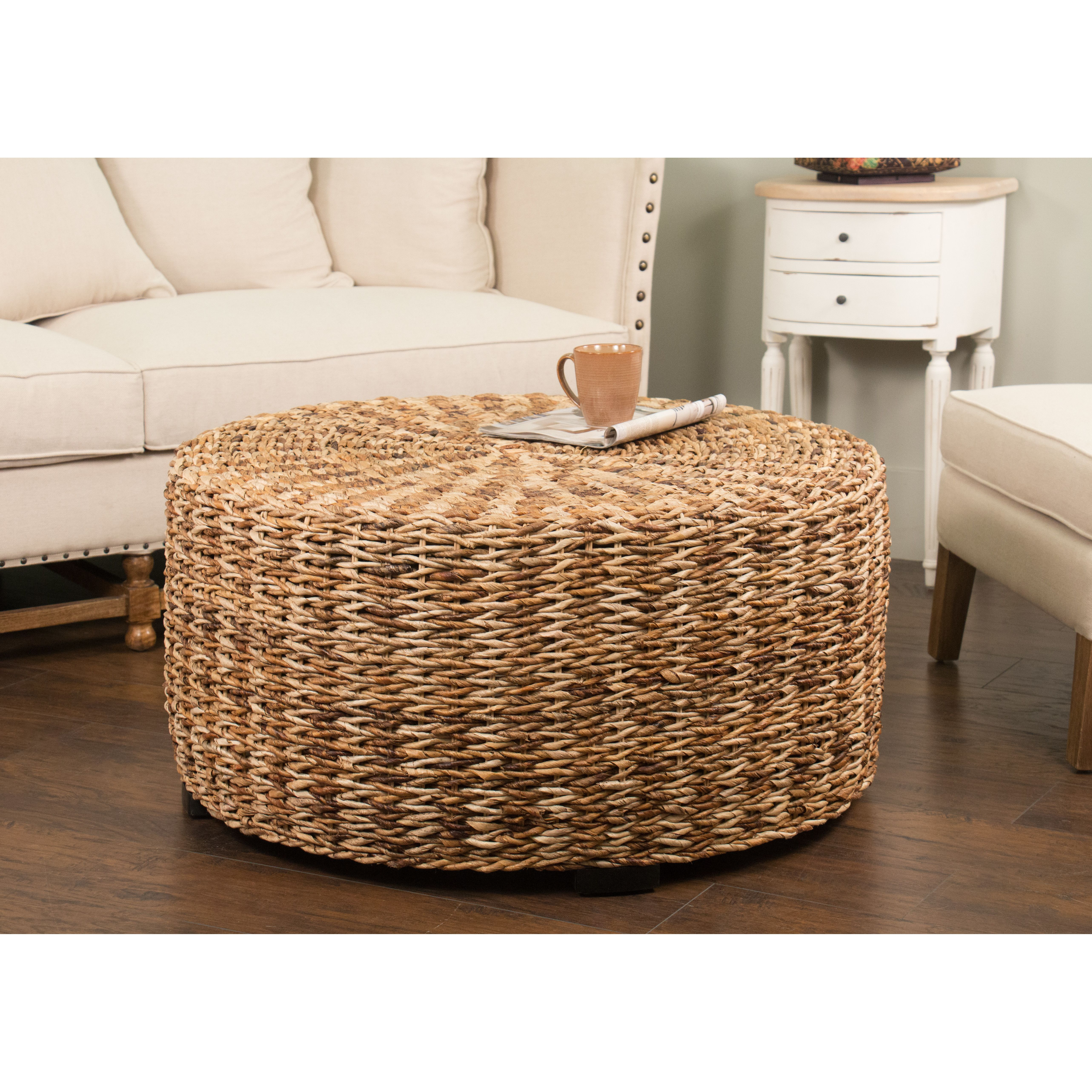Beachcrest Home Placid Lakes Coffee Table Coffee Table Wicker Coffee Table Traditional Coffee Table [ 5131 x 5131 Pixel ]