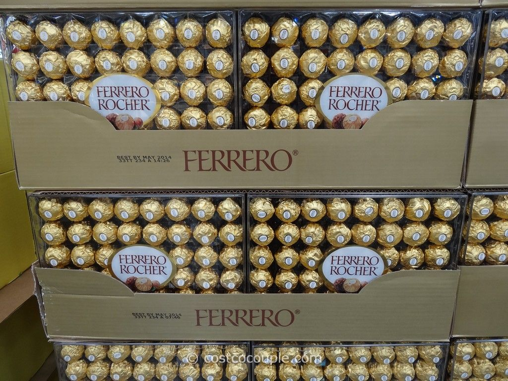 Costco Sells Bulk Ferrero Rocher Candy Can Easily Make The Topiary Display For You Can Be Made Well In Advance Ferrero Rocher Chocolate Hazelnut Rocher Candy