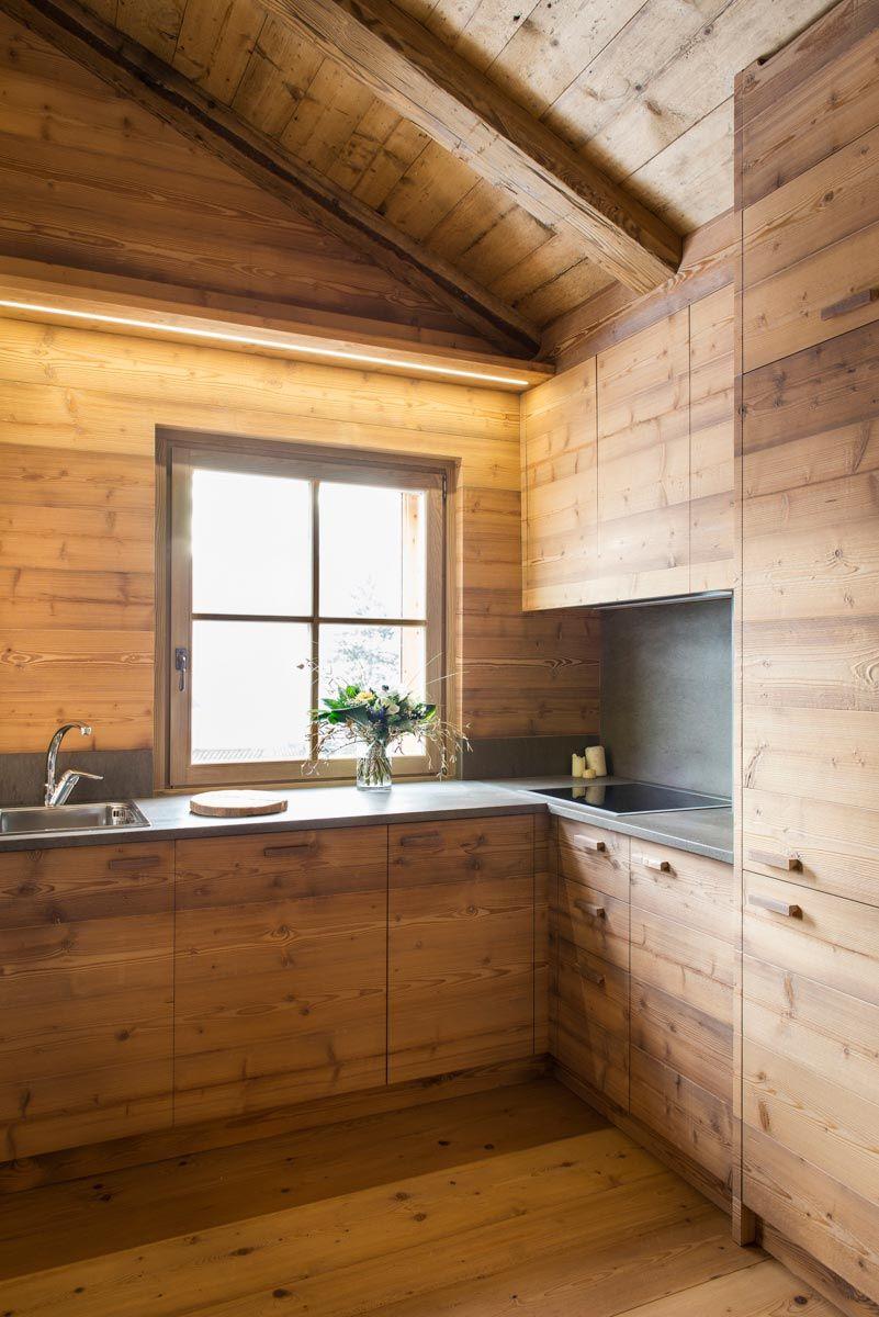 Casa di montagna moderna e funzionale e che fa for Case classiche interni