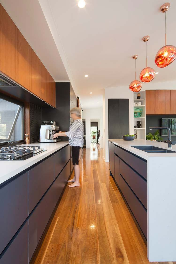 Samford valley small house kitchen lighting design reno ideas also this modern tropical home is  granny flat for hip elderly couple rh ar pinterest