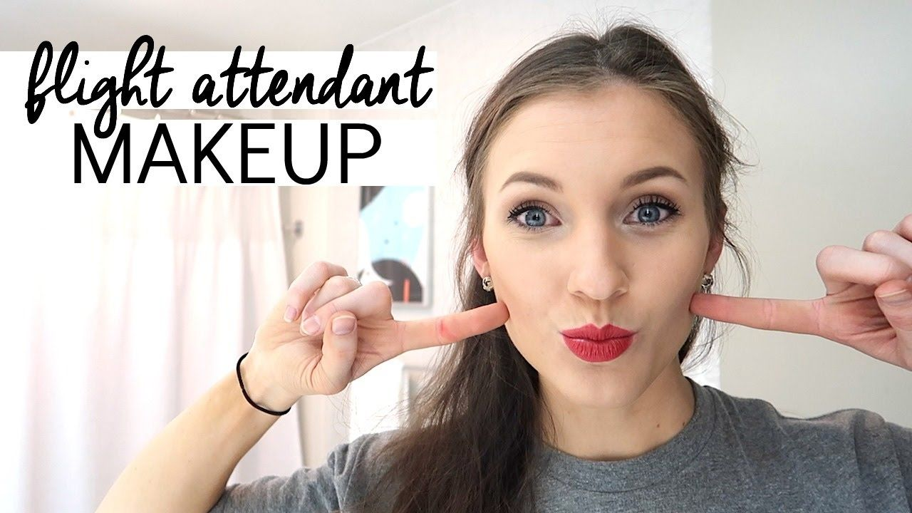 flight attendant makeup routine, redeye flight, + fa shoes