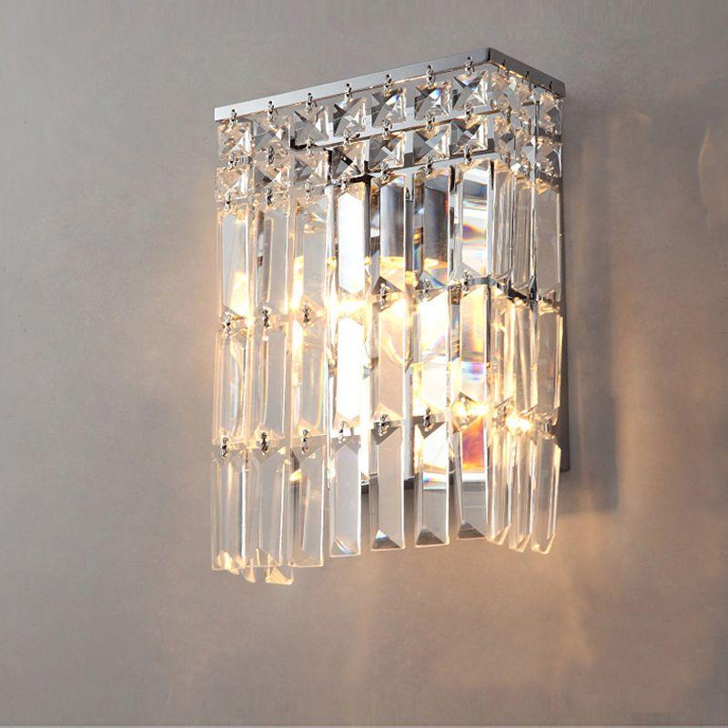 contemporary wall l&s bathroom led wall mount light bedside bedroom crystal wall lights crystal wall sconce & contemporary wall lamps bathroom led wall mount light bedside ...