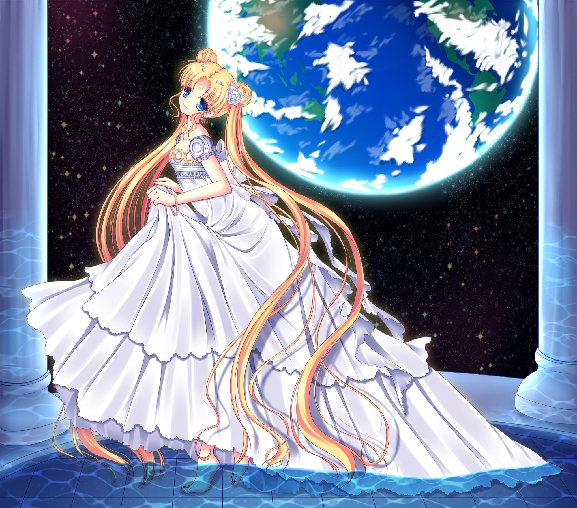 Sailor Moon Princess Serenity Wallpaper Princess Serenity  Zerochan