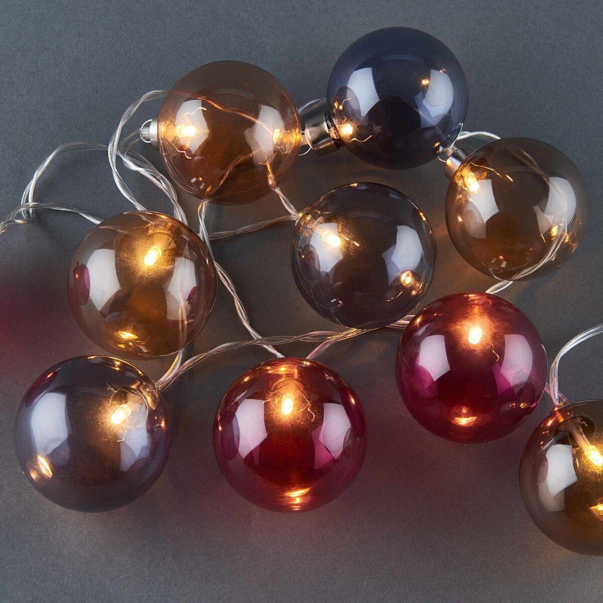 Butler Christmas Lights 2020 TRICOLORE LK Glaskugel, getönt, 10L in 2020 | Jewelry, Pearl