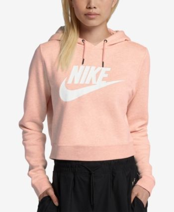 b126c3e47 Nike Sportswear Rally Logo Cropped Fleece Hoodie in 2019   Products ...