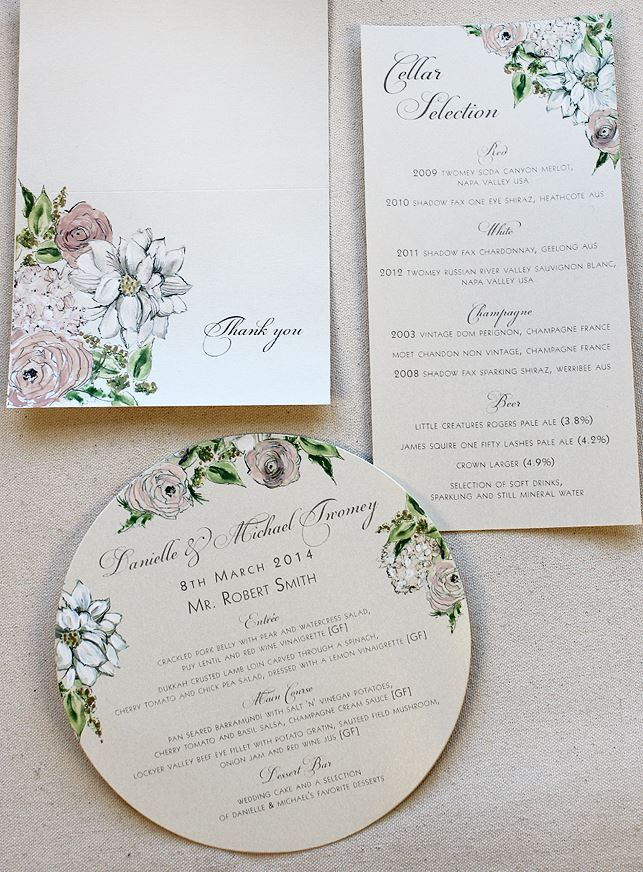 Champagne White And Pale Pink Floral Wedding Invitations With Illustrated Venue Illustrated Wedding Invitations Floral Wedding Invitations Wedding Invitations