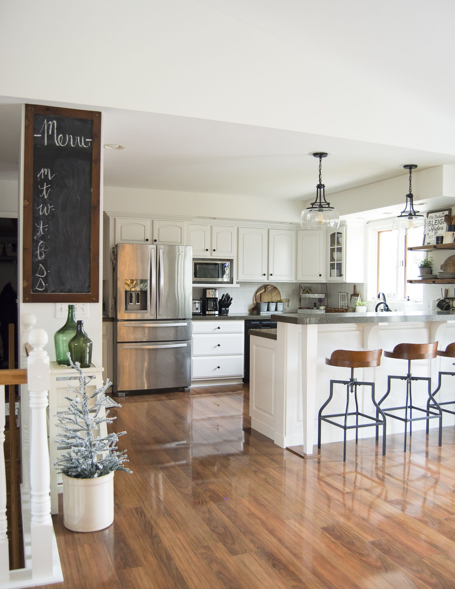 Do you need easy ways to add christmas decor your kitchen without it taking over also modern small makeover ideas  home group board rh br pinterest