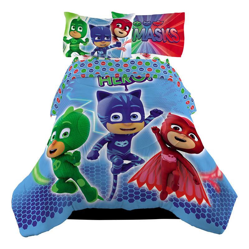Pj Masks Midweight Reversible Comforter Set Comforter