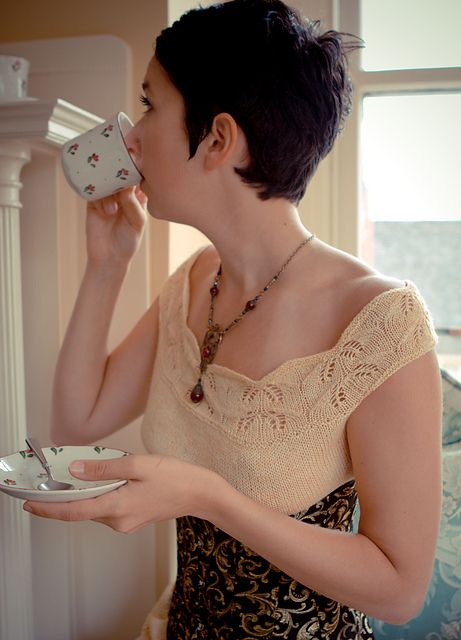 Ravelry: The Hush Chemise pattern by Amanda M. Williams from needles and artifice