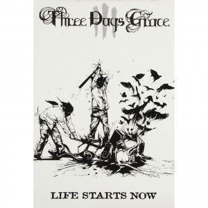 Life Starts Now Domestic Poster Three Days Grace Music Poster Life