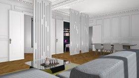 cr er une chambre dans une entr e la maison france 5. Black Bedroom Furniture Sets. Home Design Ideas