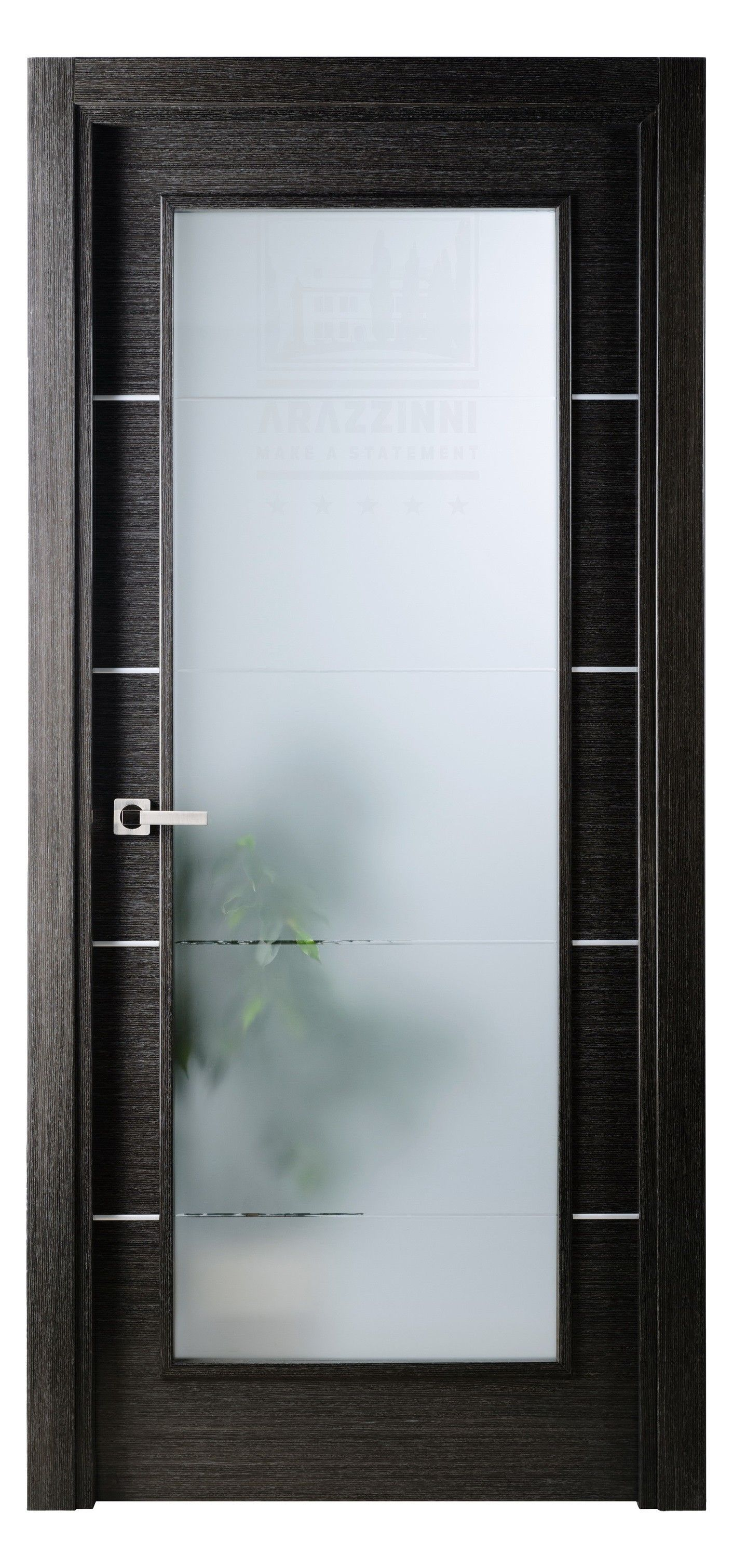 Single Interior Glass Doors arazzinni avanti vetro interior door black apricot | interior door