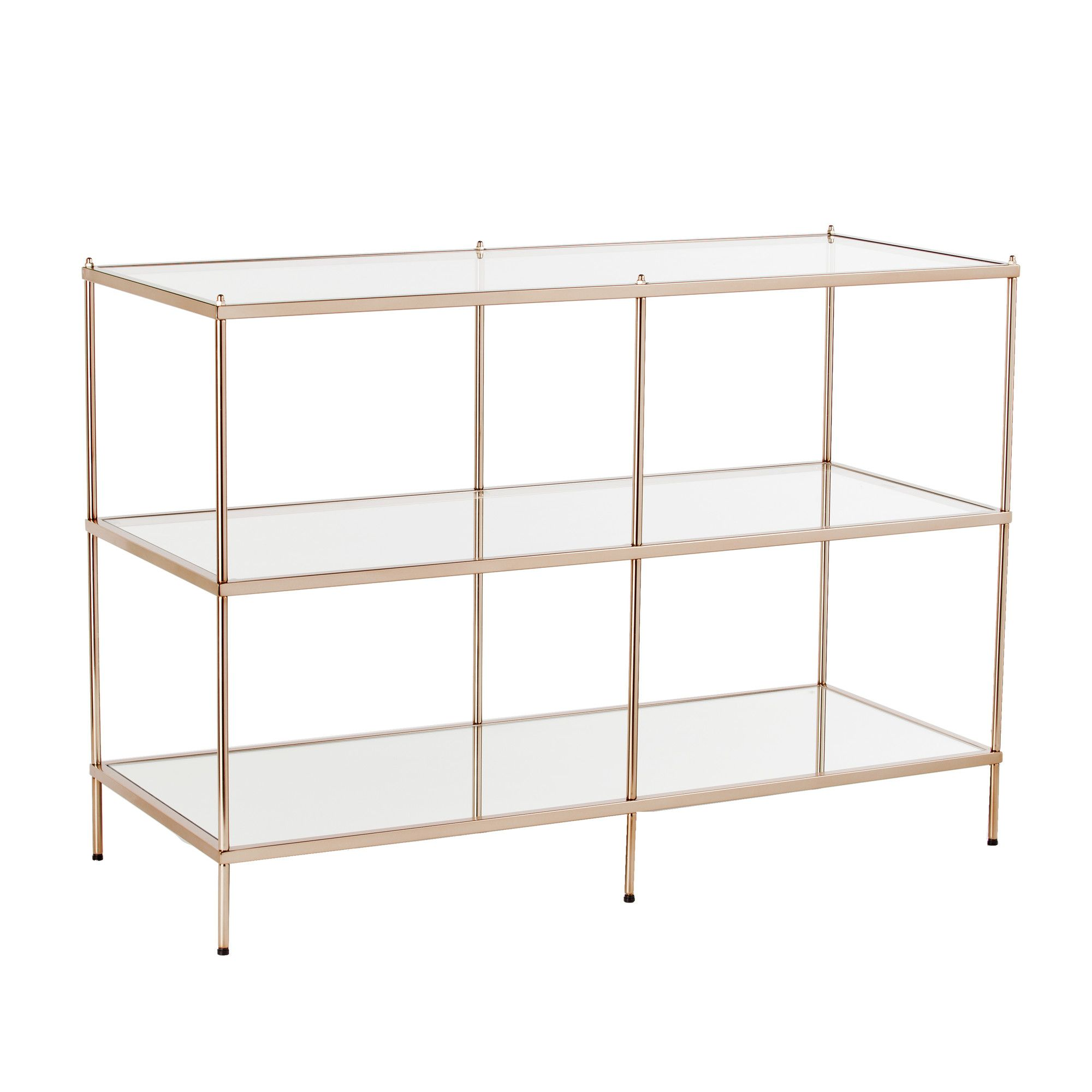Glass console table with shelf damon console table  products  pinterest  console tables and products