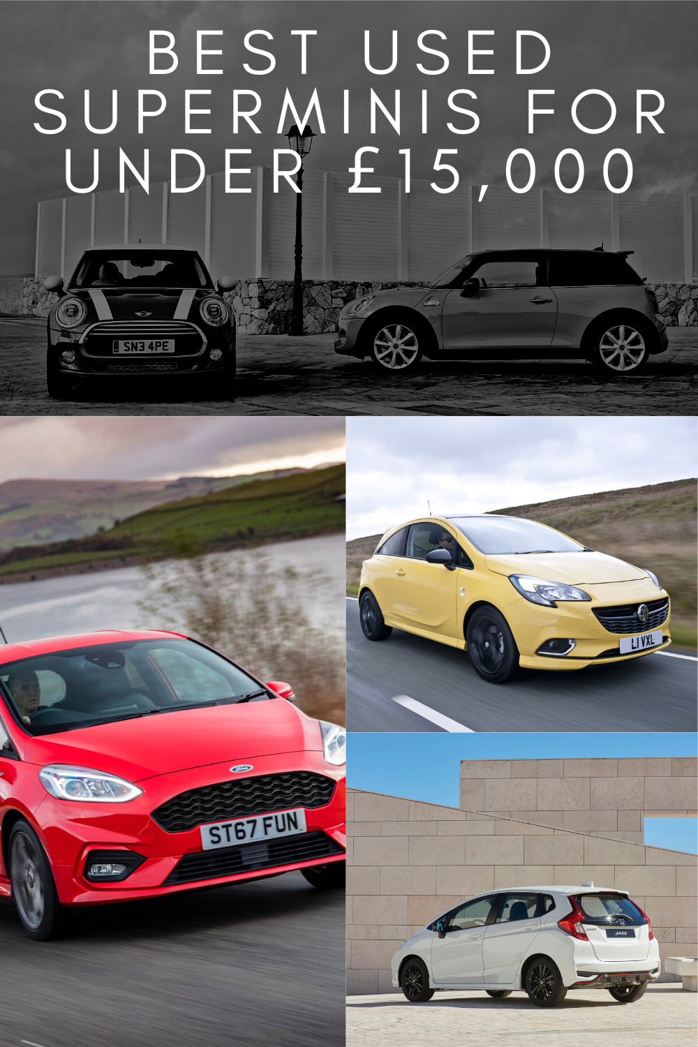 Best Used Superminis For Under £15,000 in 2020 Hatchback