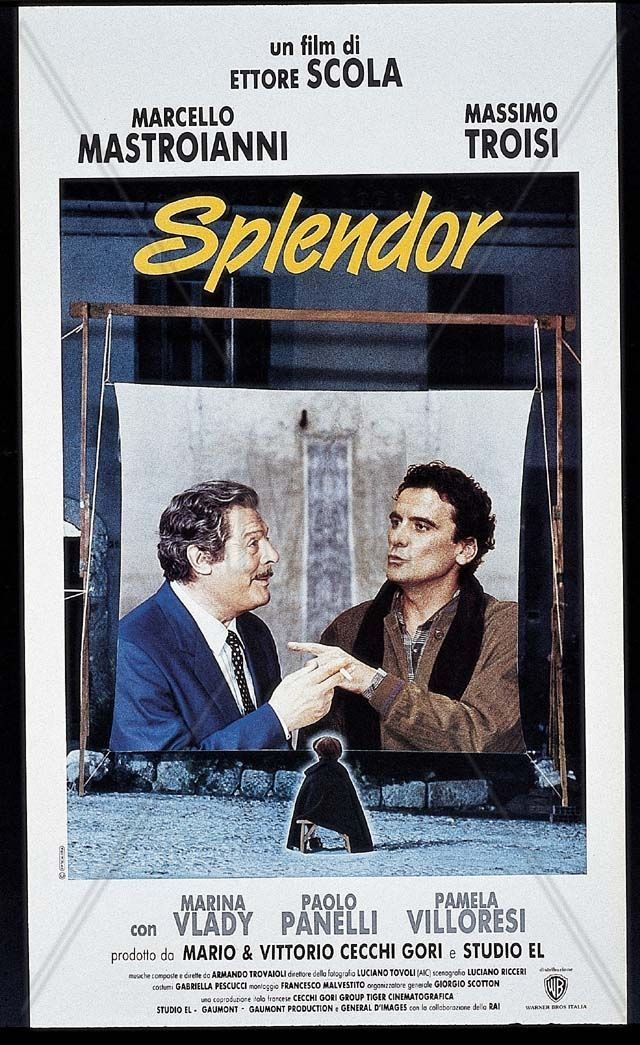 Splendor de Ettore SCOLA (1988) | Cinema | Pinterest | Cinema ...
