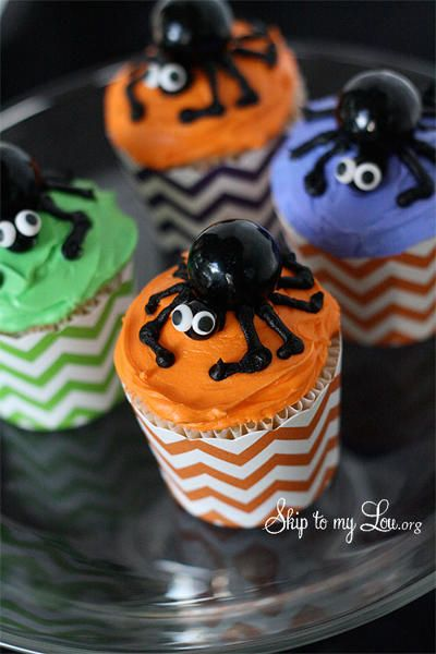 Halloween Cupcakes Cake  Cupcake Decorating Pinterest - halloween cake decorating pictures