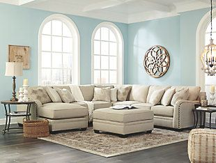 Best Luxora 5 Piece Sectional With Chaise Ashley Furniture 400 x 300