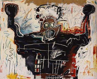 Untitled Boxer Jean-Michel Basquiat