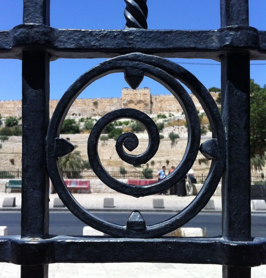 My Favorite Symbol On The Gate Of Garden Gethsemane Looking And Towards Eastern Pic Taken Sent To Me By Brother