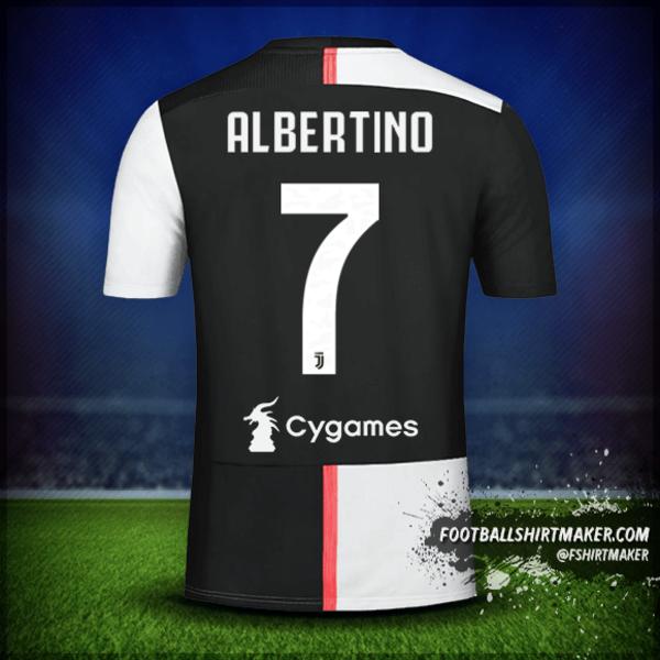 Camiseta Juventus FC 2019/20 número 7 albertino