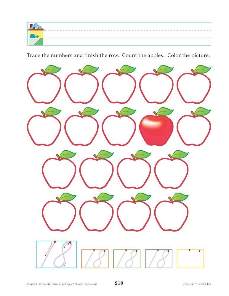 Abeka Product Information Abc 123 Bound Abeka Abc 123 Abc Free abeka worksheets