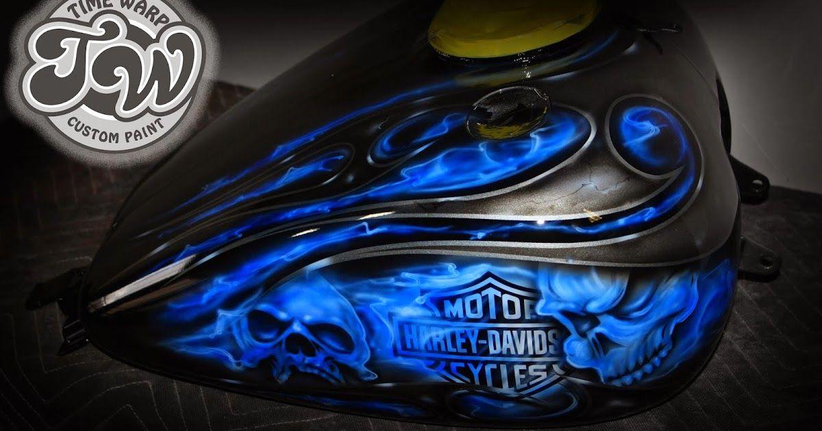 Harley Davidson custom paint shop, Airbrushing.Motorcycle custom paint | Chris | Custom paint