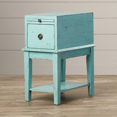 Found It At Joss Main Lorna End Table In Black End Tables With Storage End Tables Green Painted Furniture
