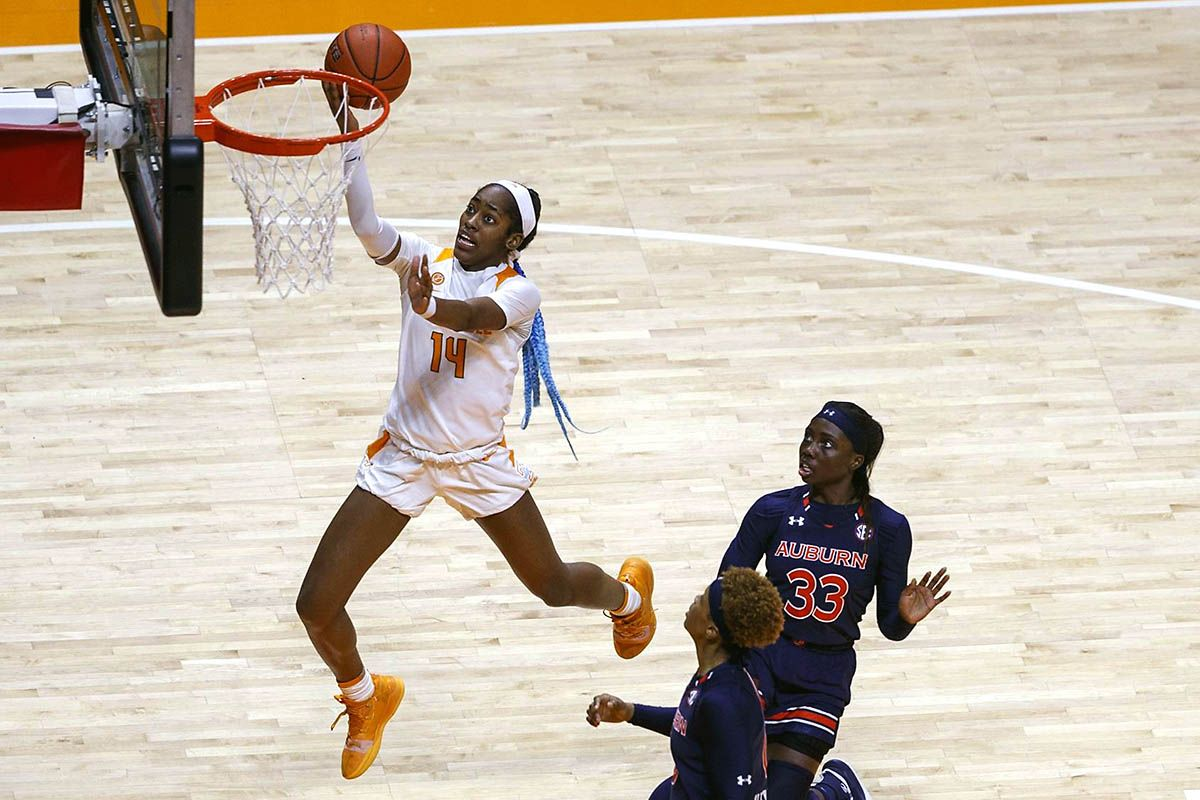 Tennessee Lady Vols get 7362 win over Auburn