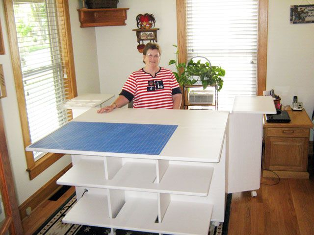 Deanna B From Normal Il My Studio Style Quilting Room Sewing Room Storage Sewing Office Room