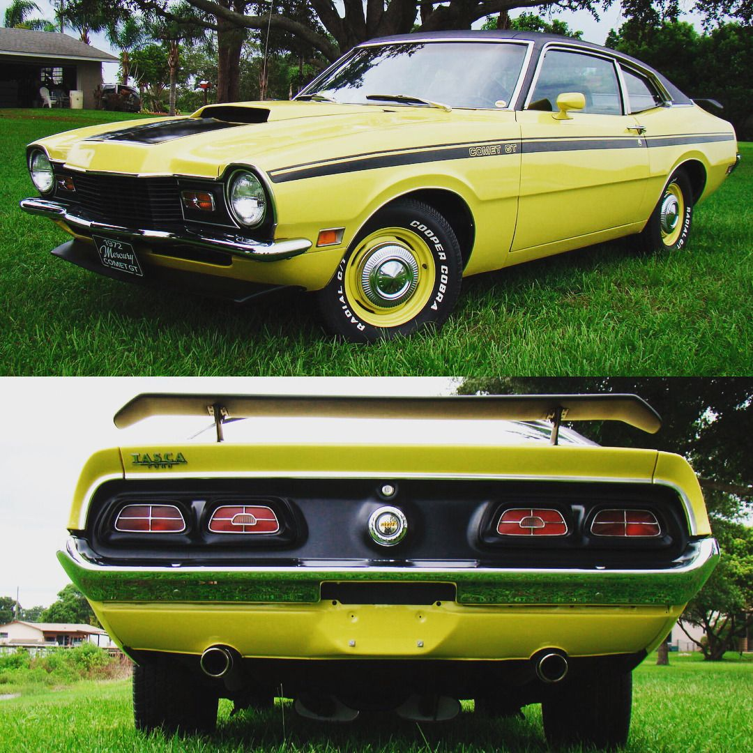 1972 Mercury Comet Gt Ford V8 Mercury Classiccar Musclecar Comet Gt Mustang Torino Falcon Mopar Chevy Vintag Ford Maverick Mercury Cars Ford Motor