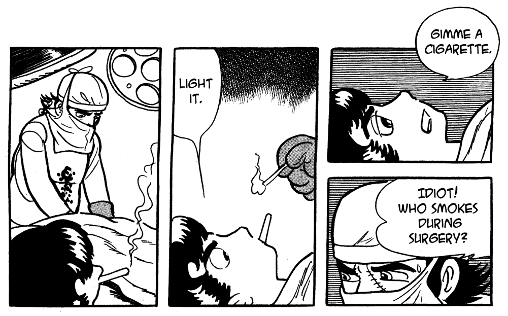 1970s Black Jack medical/drama manga series by the
