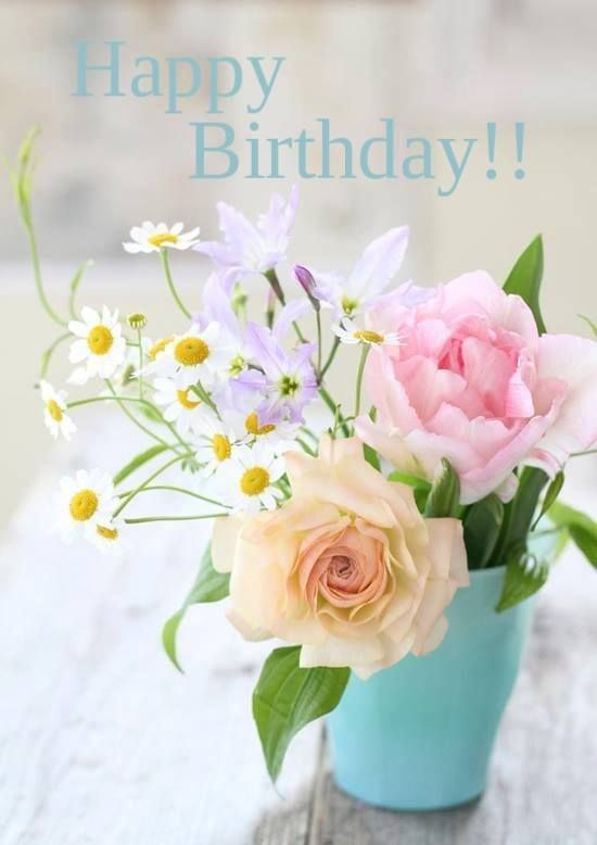 Pin by guadalupita chavez on flores pinterest happy birthday happy birthday happy birthday happy birthday wishes happy birthday quotes happy birthday images happy birthday pictures m4hsunfo