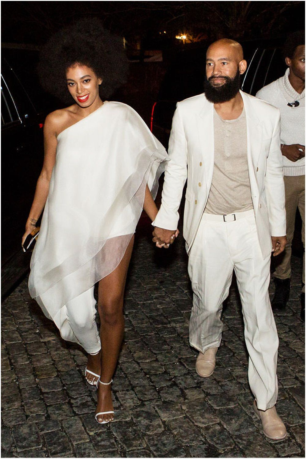 Bridal Trend Solange Knowles Wedding Dress Wearing A Stephane Rolland Jumpsuit During Her
