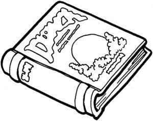 Dibujos Para Colorear De Objetos Escolares Imagesacolorierwebsite