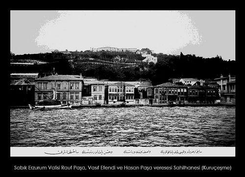 İstanbul-Yıldız Albümleri, Sabık Erzurum Valisi Rauf Paşa, Vasıf Efendi ve Hasan…