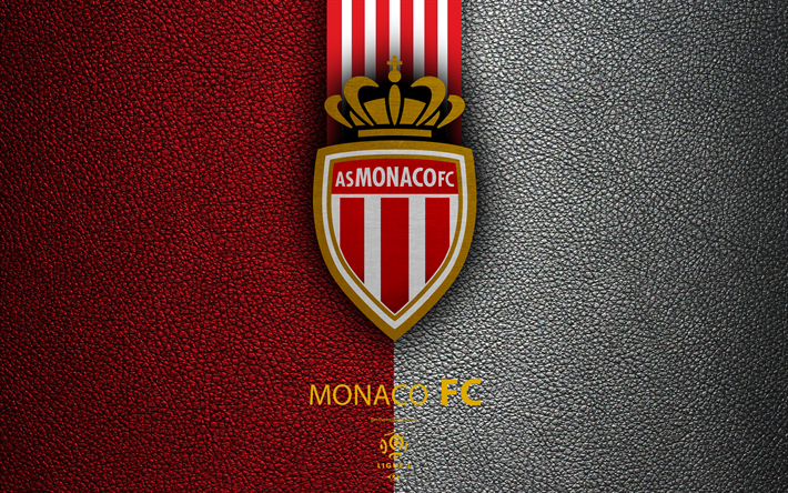 download wallpapers as monaco fc 4k french football club