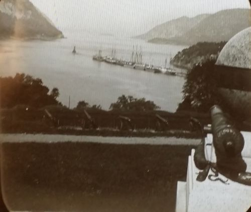 1903 Up The Hudson River from West Point New York Magic Lantern Glass Slide | eBay