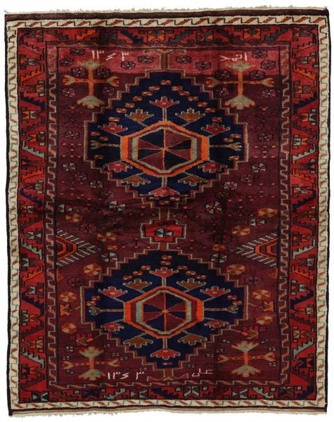 Lori Bakhtiari Persian Carpet 190x154 Persian Carpet Simple Carpets Carpet Handmade