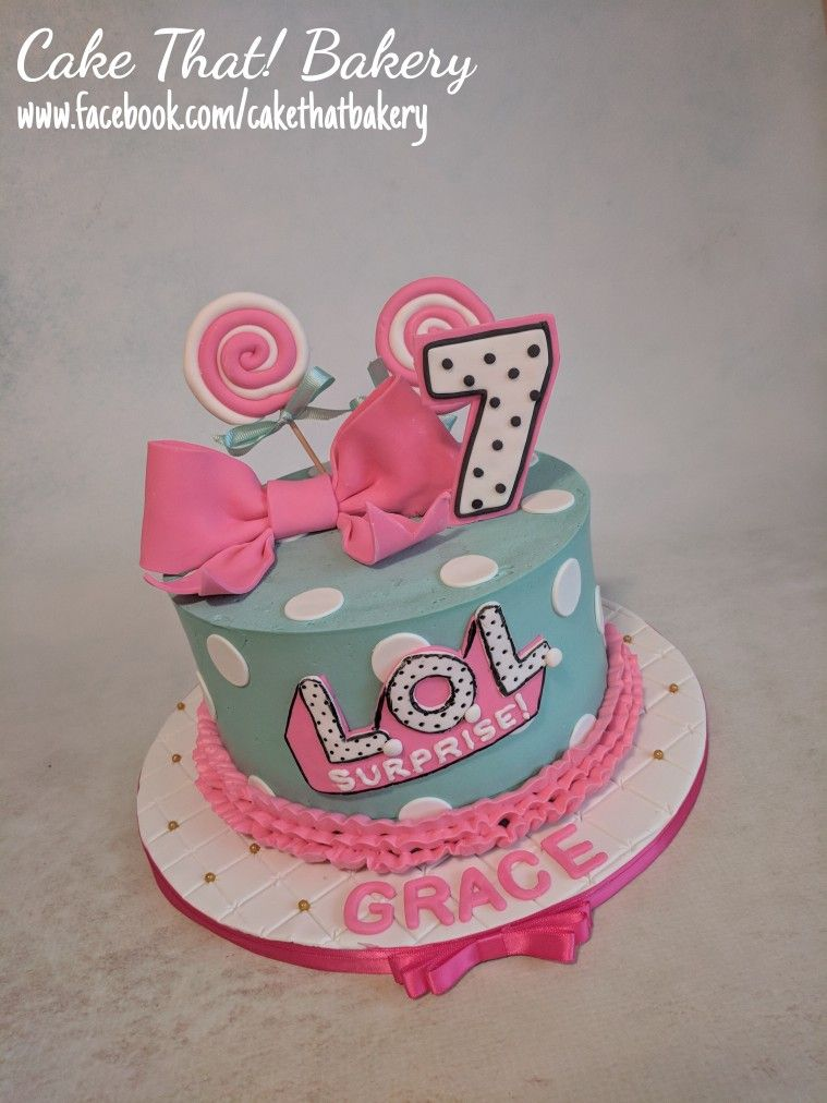 Lol surprise for cake funny birthday cakes doll