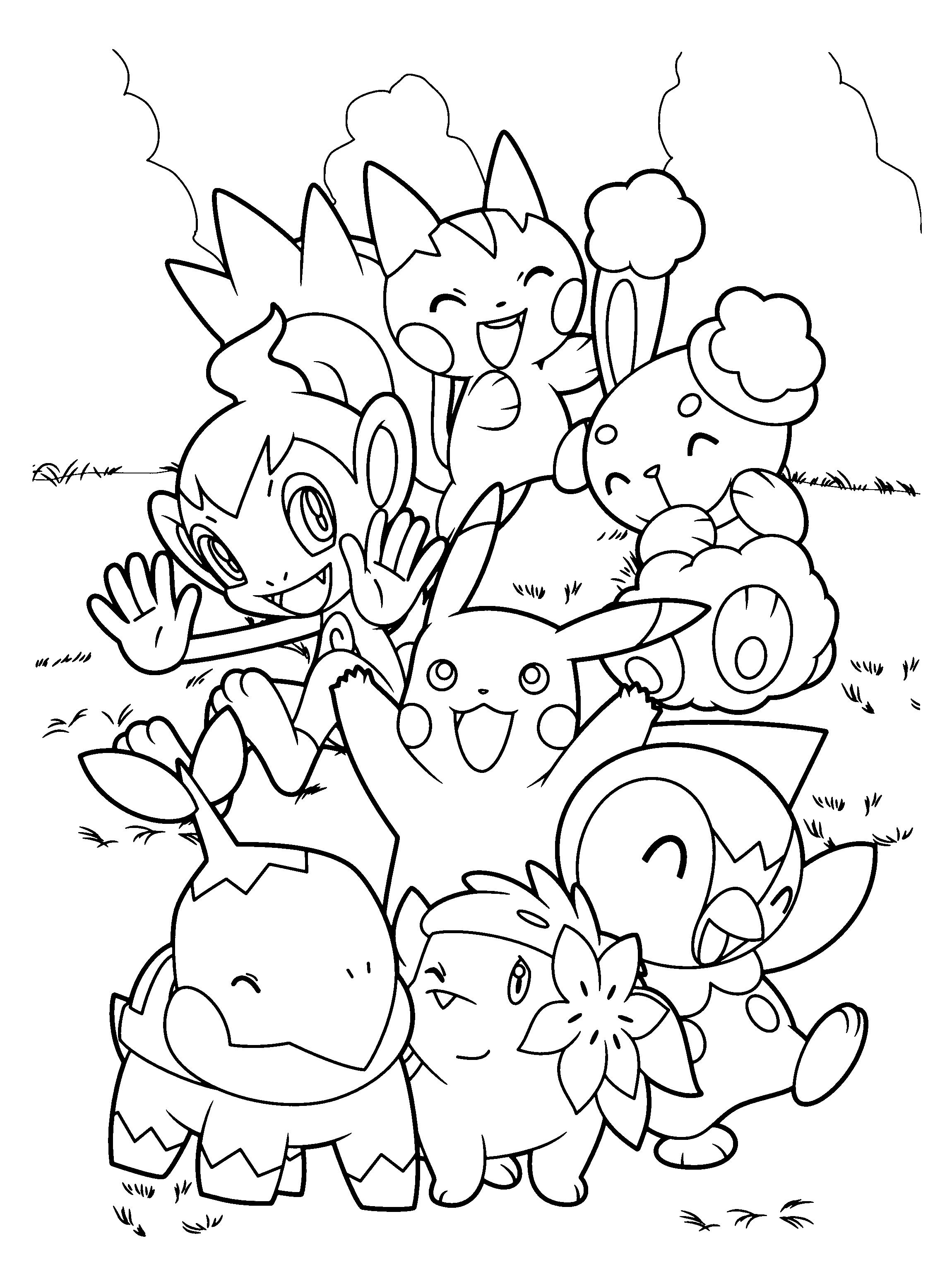 rsultat de recherche dimages pour imprimer coloriage pokemon - Pokemon Coloriage Imprimer