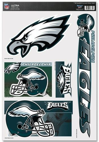Philadelphia Eagles 11x17 Ultra Decal Sheet