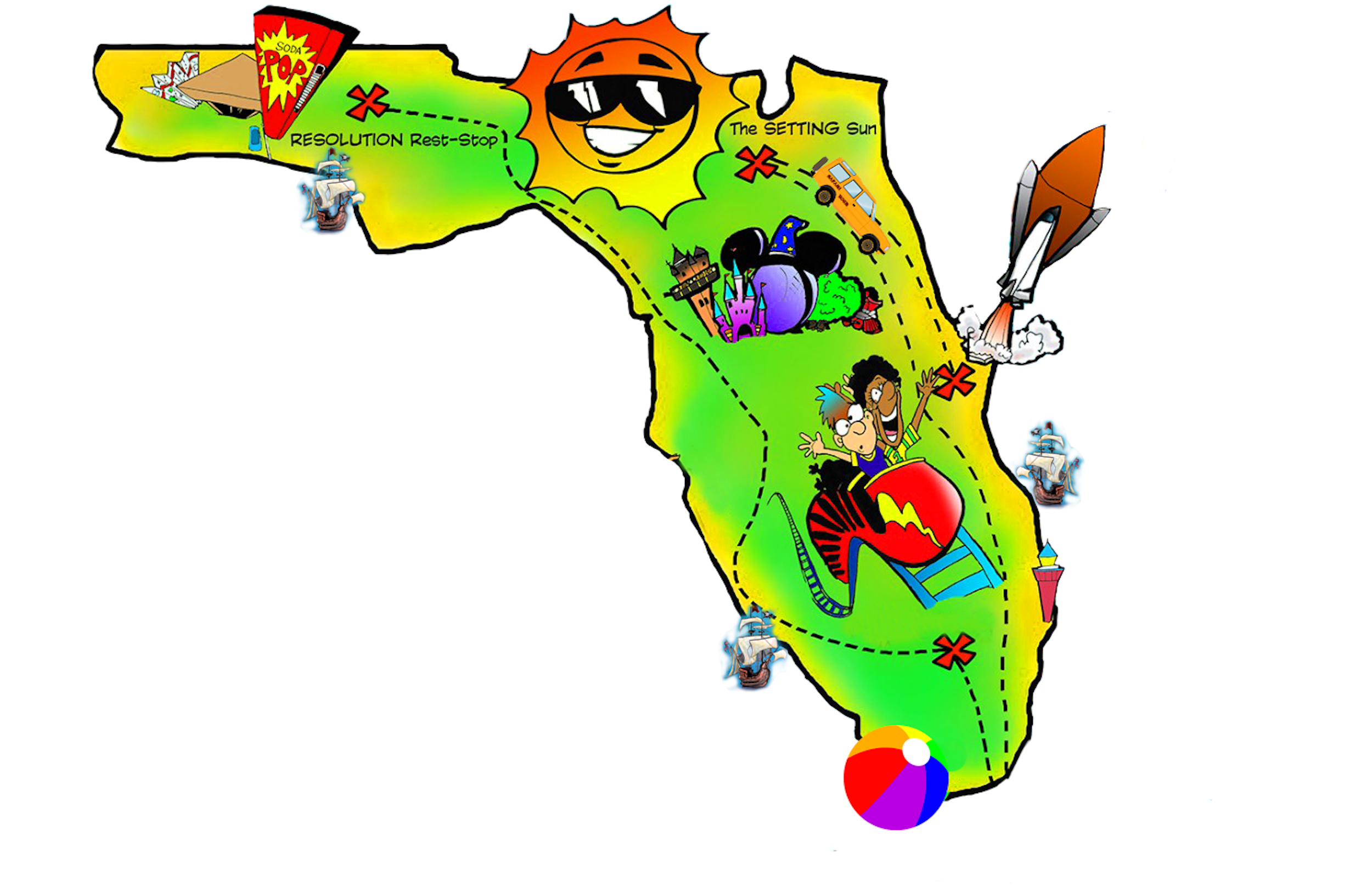Pin By Preptoon Bring Math To Life On Teachers Collaborative Board Map Of Florida Clip Art Free Clip Art