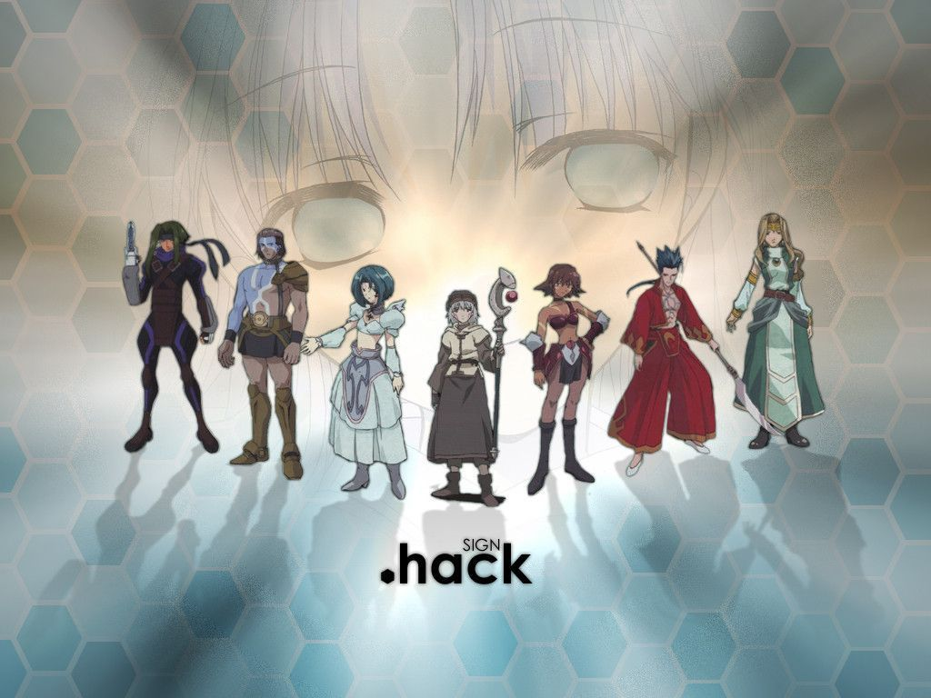 Hack Sign Wallpapers Wallpaper Cave Anime Beautiful Series Tv Tropes