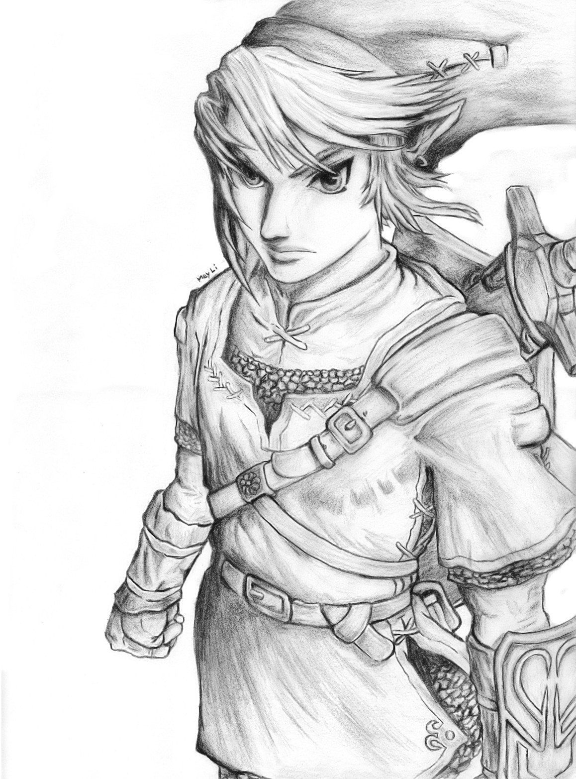 The Legend Of Zelda By Meyli27 Deviantart Com Awesome Things