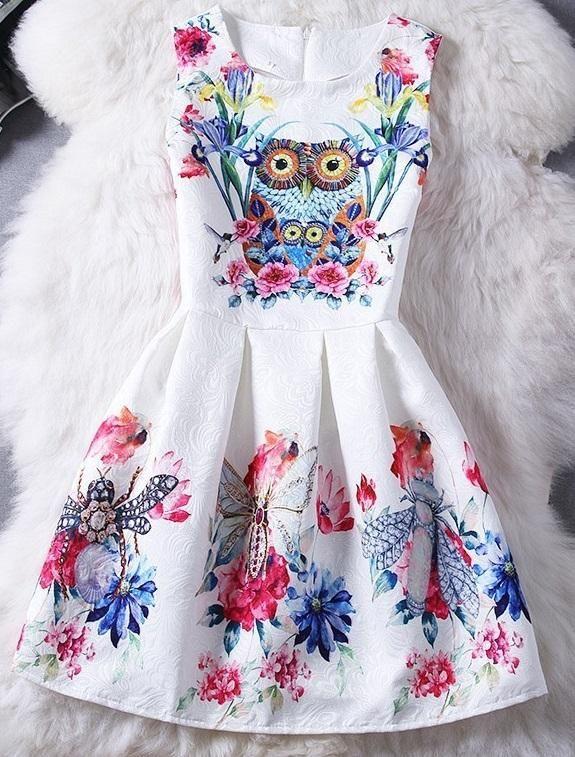 Zakardowa Sukienka Vintage Sowa Kwiaty Floral L 5310872793 Oficjalne Archiwum Allegro My Style Fashion Dresses Womens Fashion
